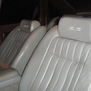just bought ss seats center console with shifter dash trunk lid tail lights and interior trim