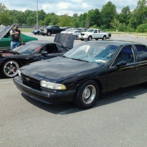 my caprice and my buddys z06