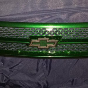 Grill for the caprice can't wait for the car to be painted