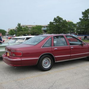Our 94 B4U LS. Medium Garnet Red Metallic. Mostly stock,has a few oem style mods I've done to it.