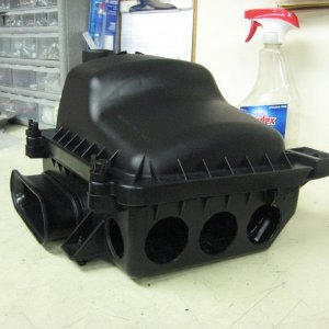 Drilled air box