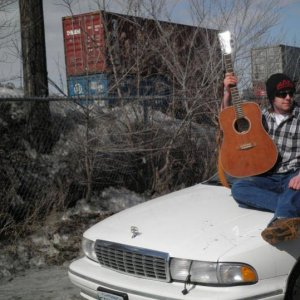 My two hobbies, Music and cars. Album cover worthy?