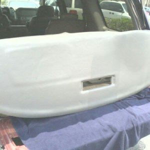 dash board done by bell upholstery