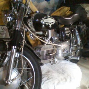 My 1967 Harley Davidson SS 250 Sprint with only 13,000 orig. miles!!!